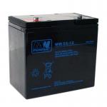 MWPower MW 12V 55Ah M6(T16) AGM akumuliatorius, 6-9 metai