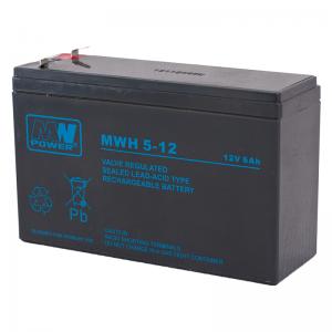 MWPower MW 12V 6Ah F2(250) AGM akumuliatorius, 6-9 metai