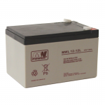 MWPower MWL 12V 12Ah AGM akumuliatorius, 10-12 metų
