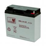 MWPower MWL 12V 18Ah AGM akumuliatorius, 10-12 metų