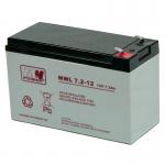 MWPower MWL 12V 7.2Ah AGM akumuliatorius, 10-12 metų