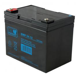 MWPower MWP 12V 34Ah M5(F6) AGM akumuliatorius, 12 metų
