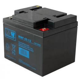MWPower MWP 12V 45Ah M6(F8) AGM akumuliatorius, 12 metų