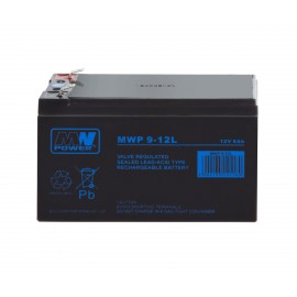 MWPower MWP 12V 9Ah F2(250) AGM akumuliatorius, 12 metų