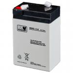 MWPower MWS 6V 5Ah F1(187) AGM akumuliatorius, 5 metai