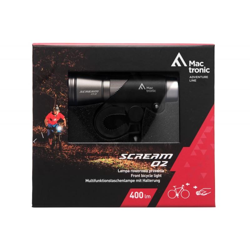 Mactronic 400lm priekinis dviračio žibintas Scream 02