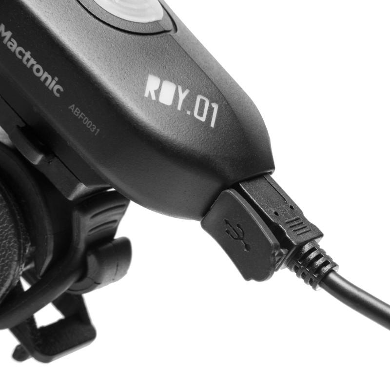Mactronic 300lm įkraunamas priekinis dviračio žibintas ROY.01