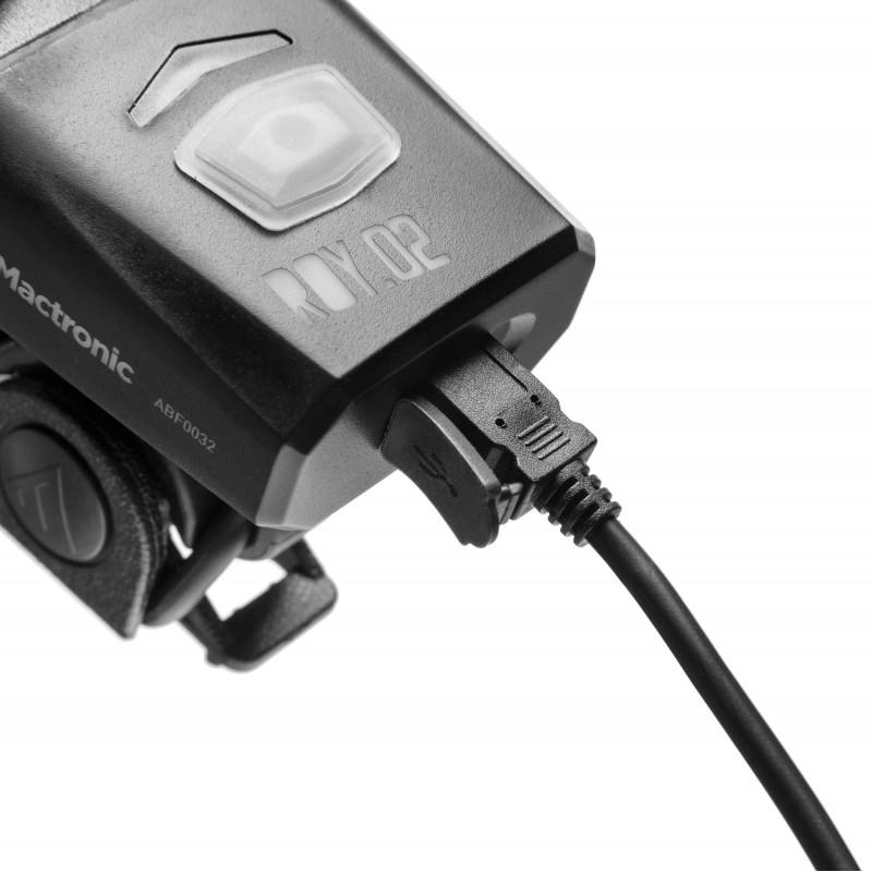 Mactronic 600lm įkraunamas priekinis dviračio žibintas ROY.02