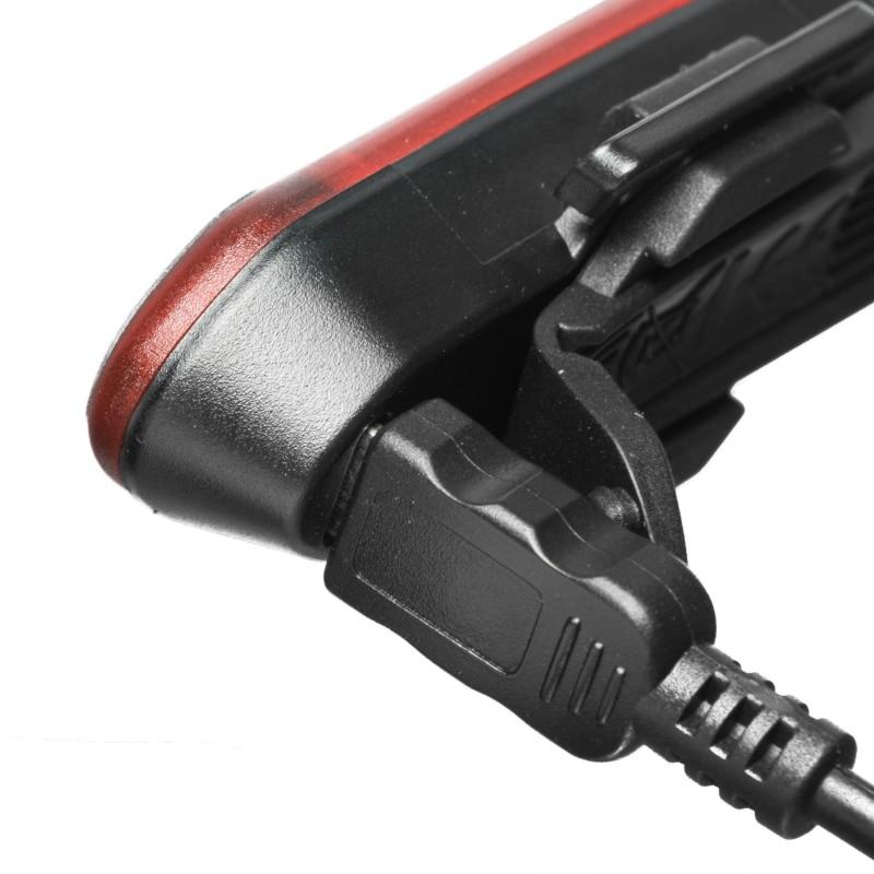 Mactronic 20lm įkraunamas galinis dviračio žibintas Red Line