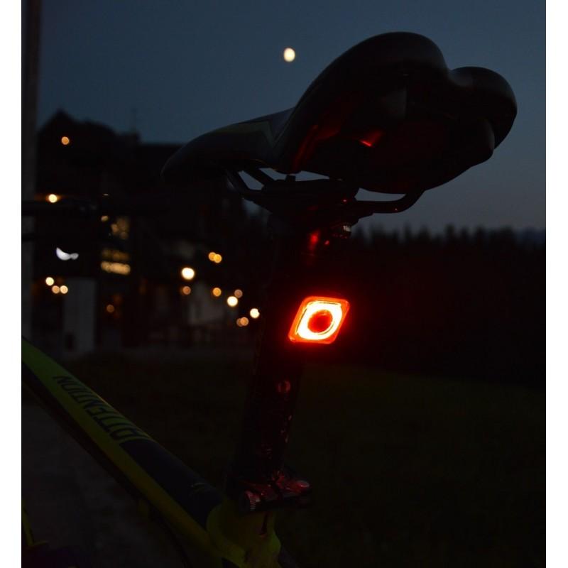 Mactronic įkraunamas 20lm galinis dviračio žibintas Reddy 1.1