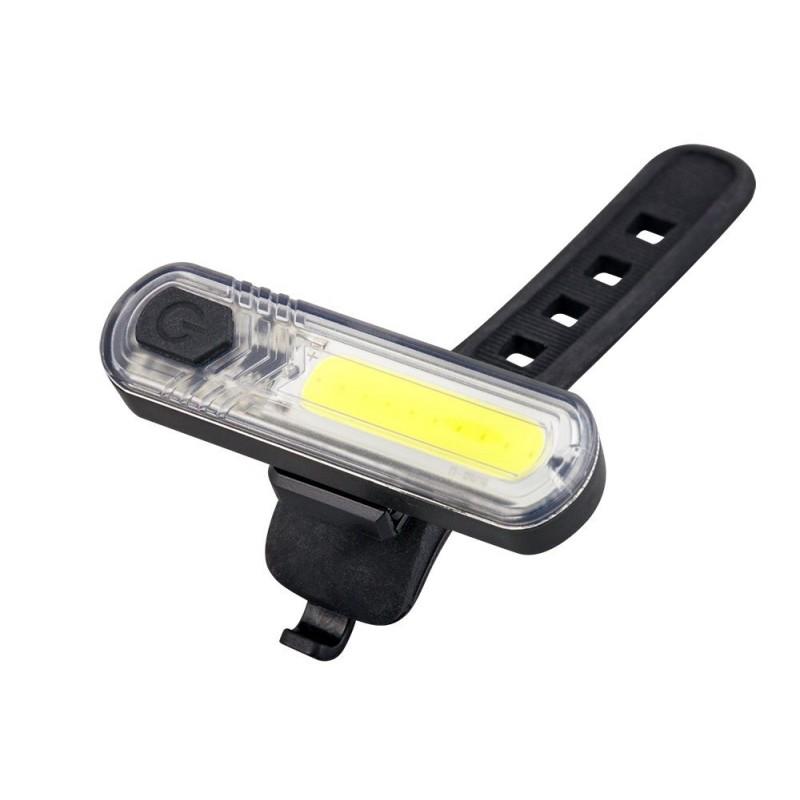 Mactronic 60+18lm USB įkraunamų dviračio žibintų komplektas DuoSlim