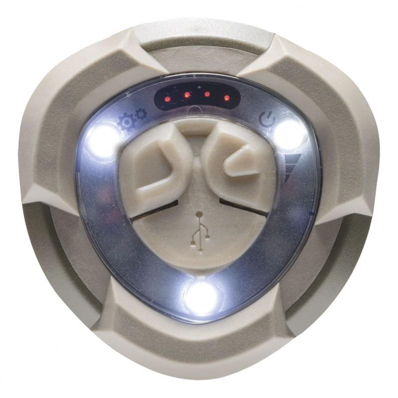 Mactronic įkraunamas 420+44lm stovyklavimo žibintas Warlock