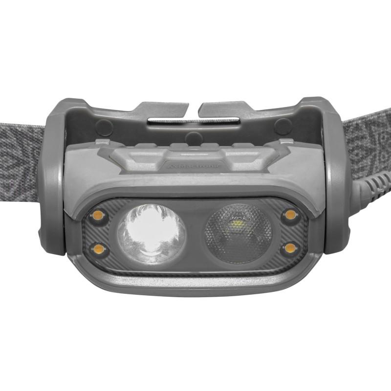 Mactronic dviejų lęšių 500+70lm galvos žibintuvėlis PHANTOM