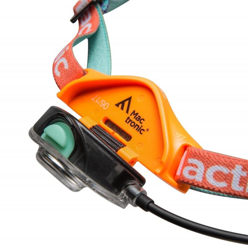 Mactronic įkraunamas 140lm itin lengvas galvos žibintuvėlis FREEQ