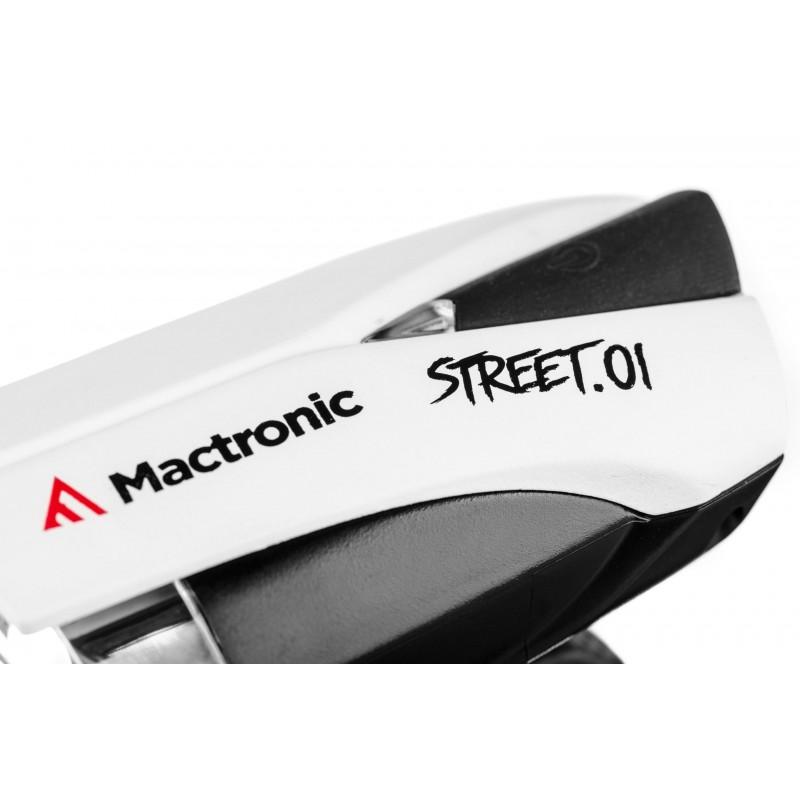 Mactronic įkraunamas 140lm priekinis dviračio žibintas su Smart Beam STREET.01