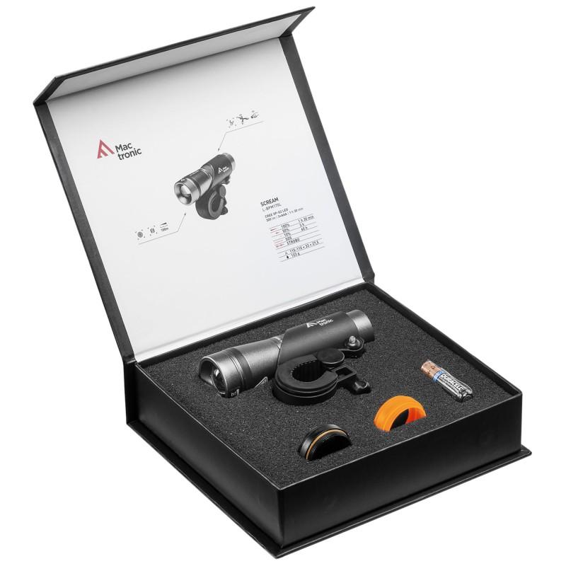 Mactronic 500lm priekinis dviračio žibintas Scream