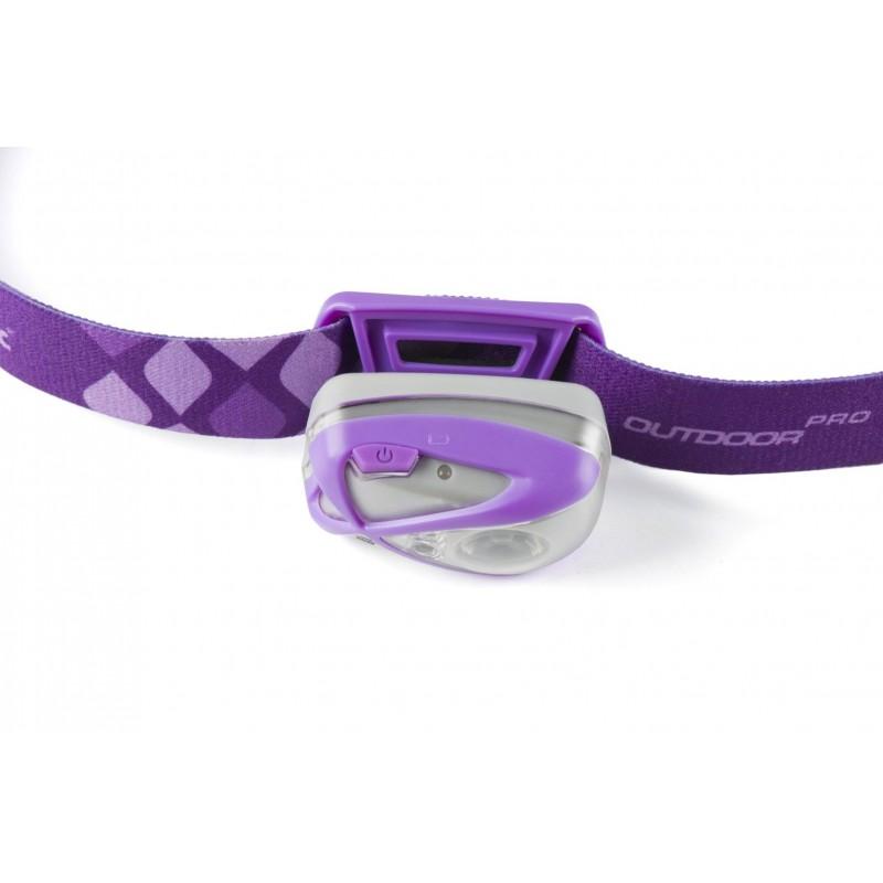 Mactronic 140lm galvos žibintuvėlis Luna (violetinis)
