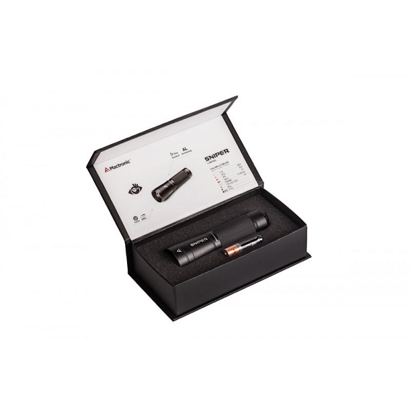 Mactronic 500lm žibintuvėlis su fokusavimo funkcija Sniper