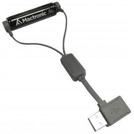 Mactronic universalus magnetinis USB li-ion akumuliatorių įkroviklis