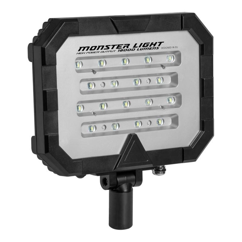 Mactronic įkraunama 18000lm 40Ah apšvietimo sistema Monster Light Single