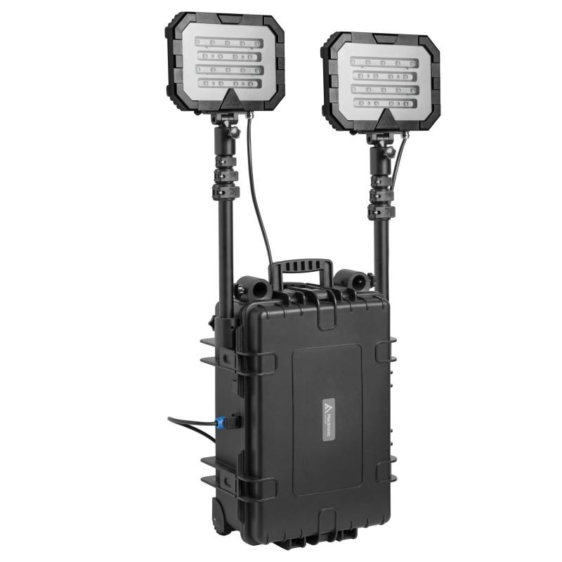 Mactronic įkraunama 36000lm 50Ah apšvietimo sistema Monster Light Twin