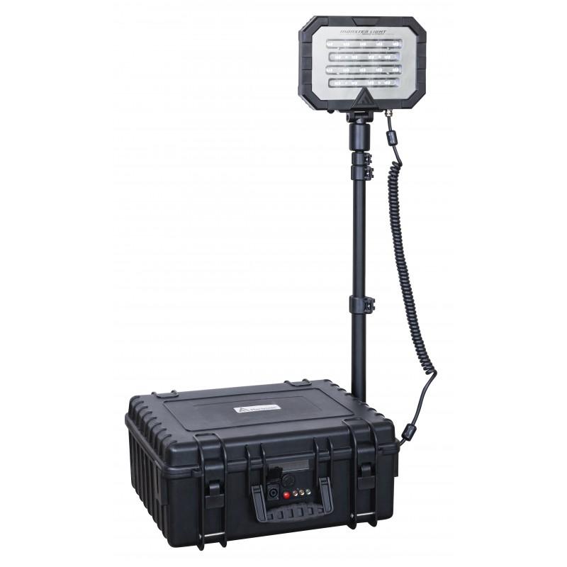 Mactronic įkraunama 18000lm 47,6Ah apšvietimo sistema Monster Light Midi