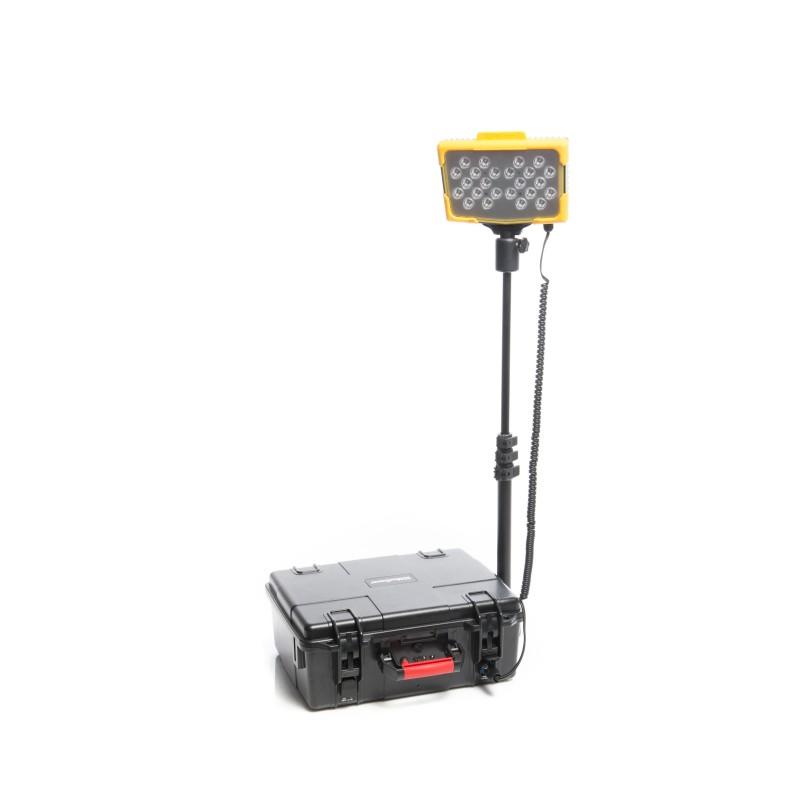 Mactronic įkraunama 7200lm LED apšvietimo sistema Midi