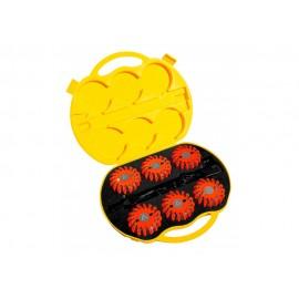 Mactronic signalinių diskų rinkinys (oranžinės sp.), 6 vnt.