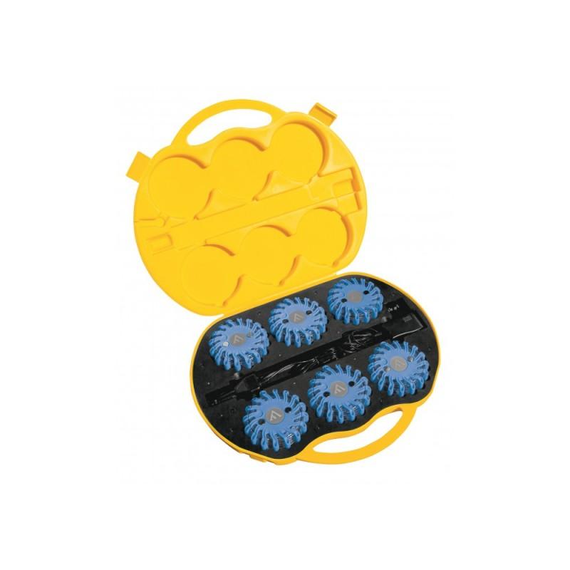 Mactronic signalinių diskų rinkinys (mėlynos sp.), 6 vnt.