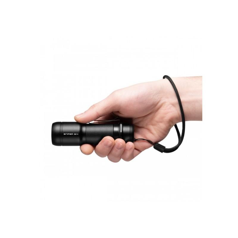 Mactronic 600lm žibintuvėlis su fokusavimo funkcija Sniper 3.4