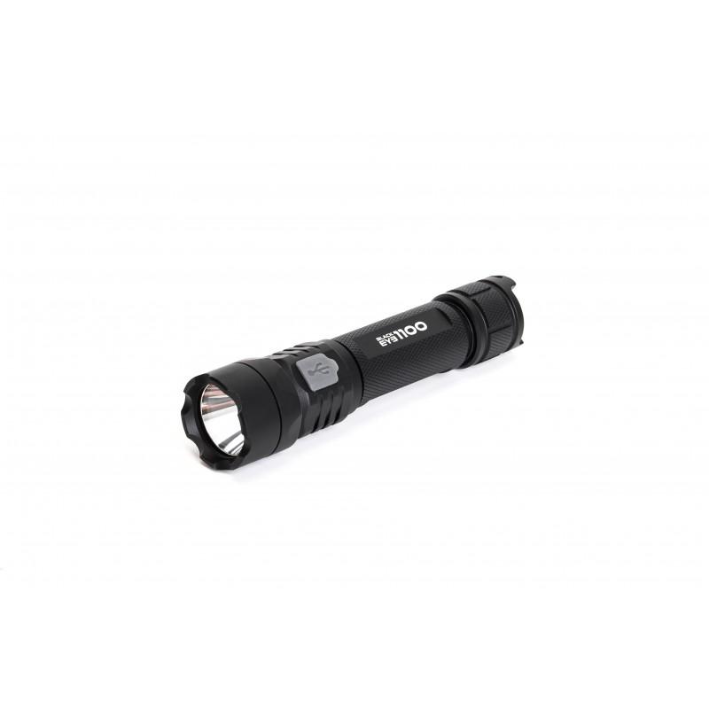 Mactronic USB įkraunamas 1100lm žibintuvėlis Black Eye 1100