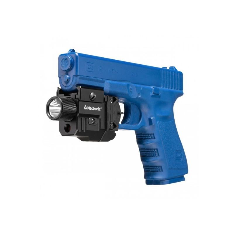 Mactronic 550lm pistoleto žibintuvėlis su lazeriu T-Force LSR