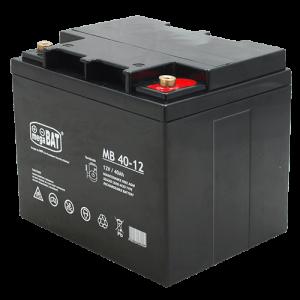 Megabat 12V 40Ah M6 AGM akumuliatorius, 3-5 metai