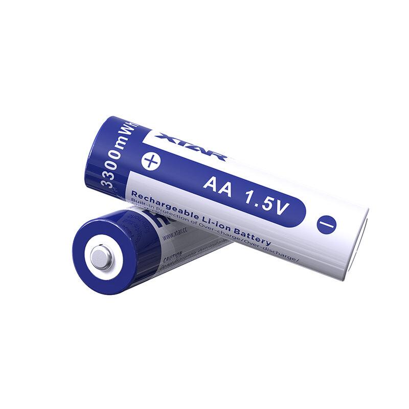 Xtar 1,5V 2000mAh AA įkraunamas elementas, 1 vnt.
