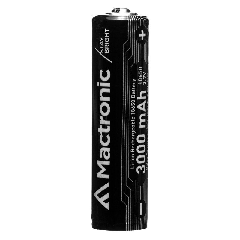 Mactronic 3000mAh 3,7V 18650 baterija su PCB