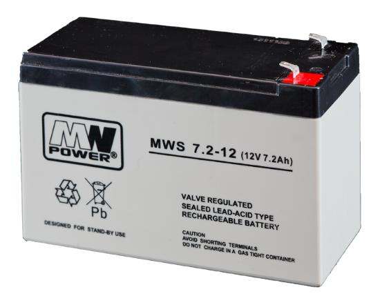 Švino rūgštiniai AGM akumuliatoriai signalizacijoms