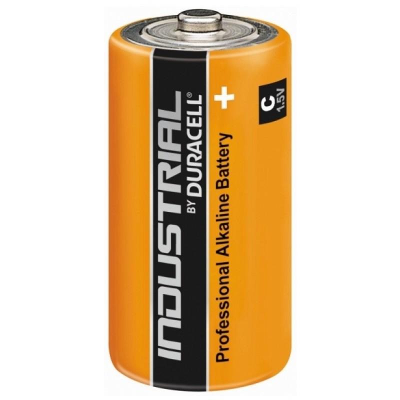 C dydžio  baterijos ir elementai (R14, LR14)